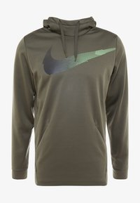 Nike Performance - Mikina skapucí - cargo khaki - 3