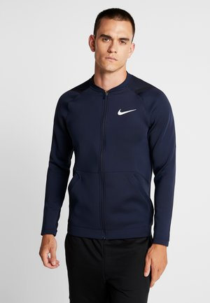 M NK FZ FLC NPC - Training jacket - obsidian