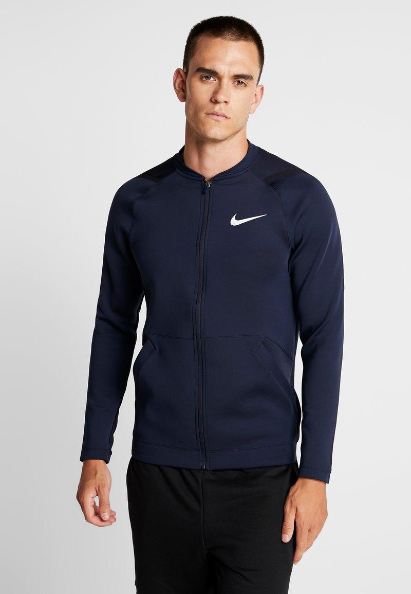 Nike Performance - M NK FZ FLC NPC - Training jacket - obsidian