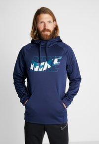 Nike Performance - Hoodie - midnight navy - 0