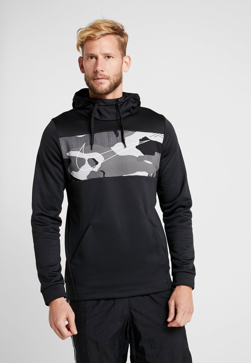 Nike Performance - Hoodie - black/white