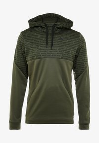 Nike Performance - Luvtröja - khaki/black - 4