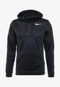Nike Performance - Jersey con capucha - black/white - 4