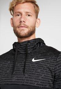 Nike Performance - Jersey con capucha - black/white - 3