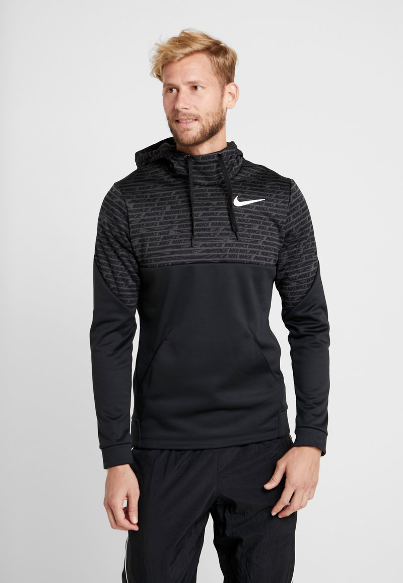 Nike Performance - Jersey con capucha - black/white