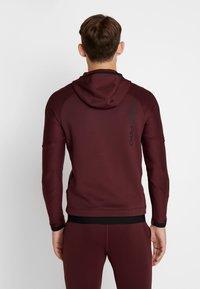 Nike Performance - Jersey con capucha - night maroon - 2
