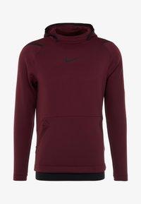 Nike Performance - Jersey con capucha - night maroon - 5