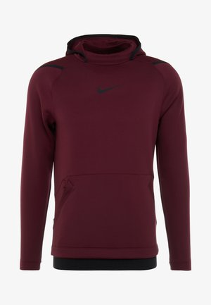 Jersey con capucha - night maroon