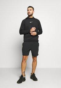 Nike Performance - Kapuzenpullover - black/black/white - 1