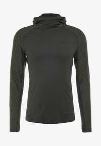 Nike Performance - UTILITY THRMA NVTY - Funktionsshirt - khaki/black - 5