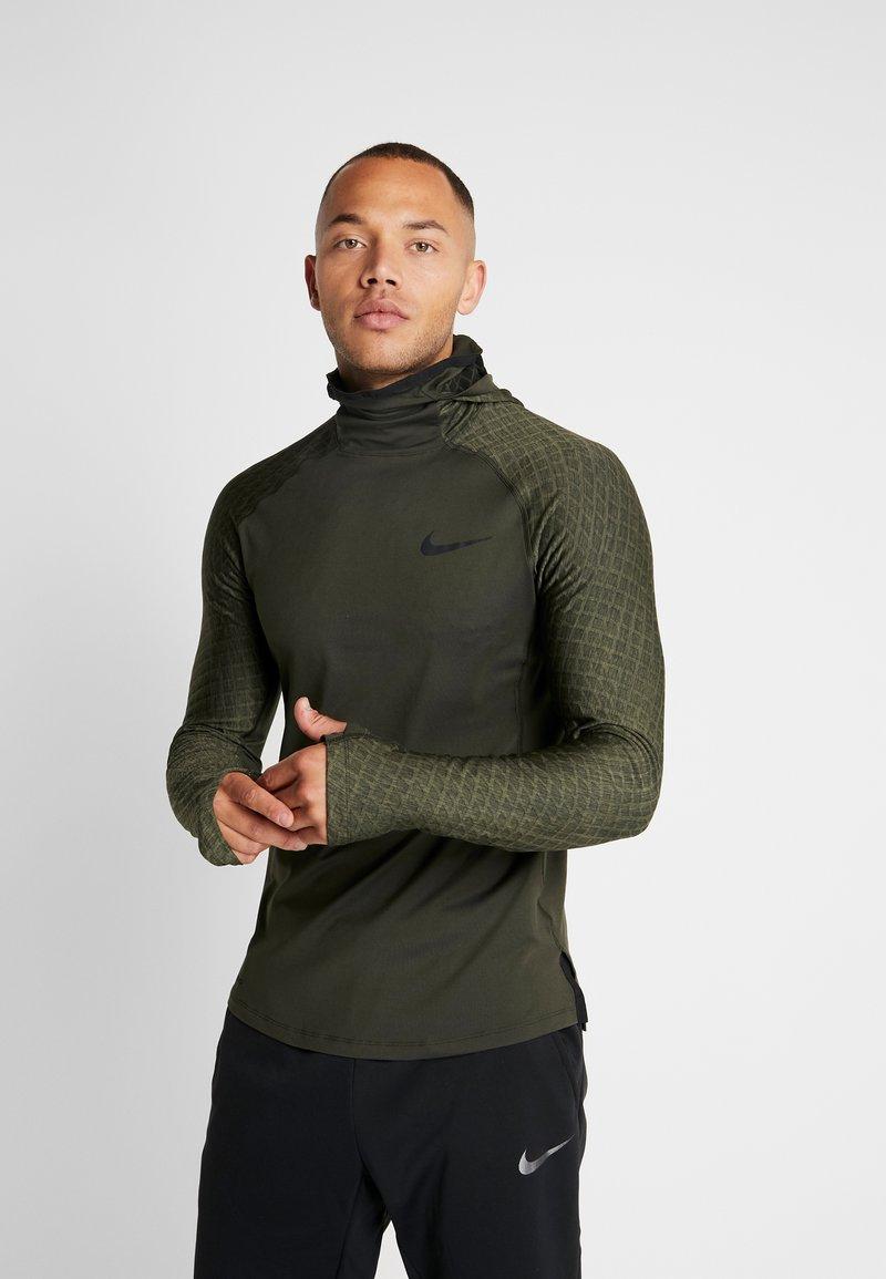 Nike Performance - UTILITY THRMA NVTY - Funktionsshirt - khaki/black