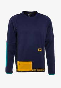 Nike Performance - CREW  - Sweatshirt - blackened blue/bright violet - 3