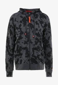 Nike Performance - LEBRON JAMES FULL ZIP HOODIE - Mikina na zip - anthracite/team orange - 6