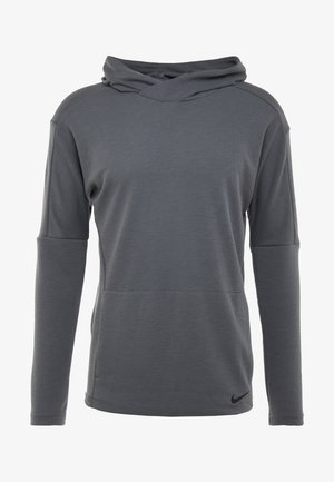 Sweat à capuche - iron grey/black