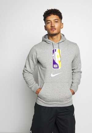 NBA TEAM HOODY - Hoodie - grey heather