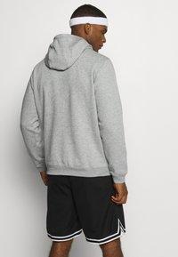 Nike Performance - NBA TEAM HOODY - Bluza z kapturem - dark grey heather - 2