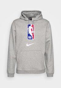 Nike Performance - NBA TEAM HOODY - Bluza z kapturem - dark grey heather - 4