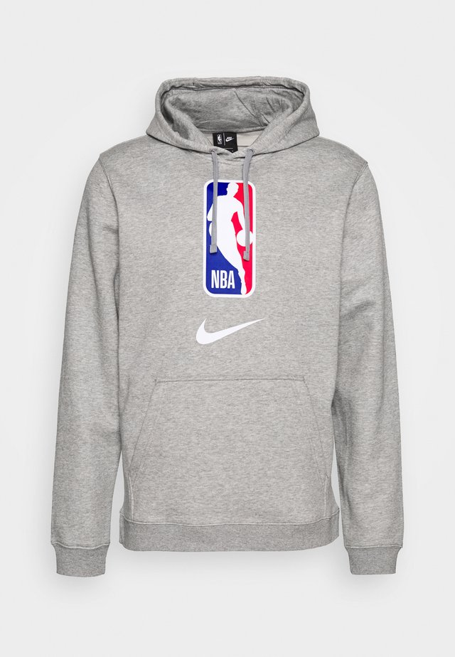 NBA TEAM HOODY - Kapuzenpullover - dark grey heather