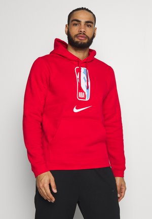 NBA TEAM HOODY - Jersey con capucha - university red