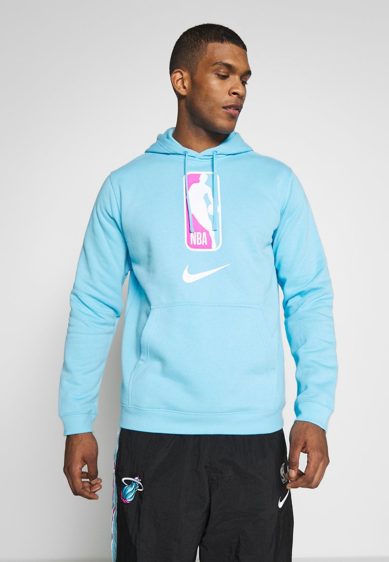 Nike Performance - NBA TEAM HOODY - Bluza z kapturem - blue gale
