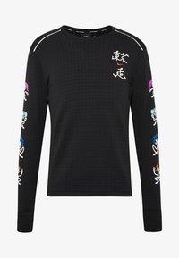 Nike Performance - CREW - Fleece jumper - black - 5