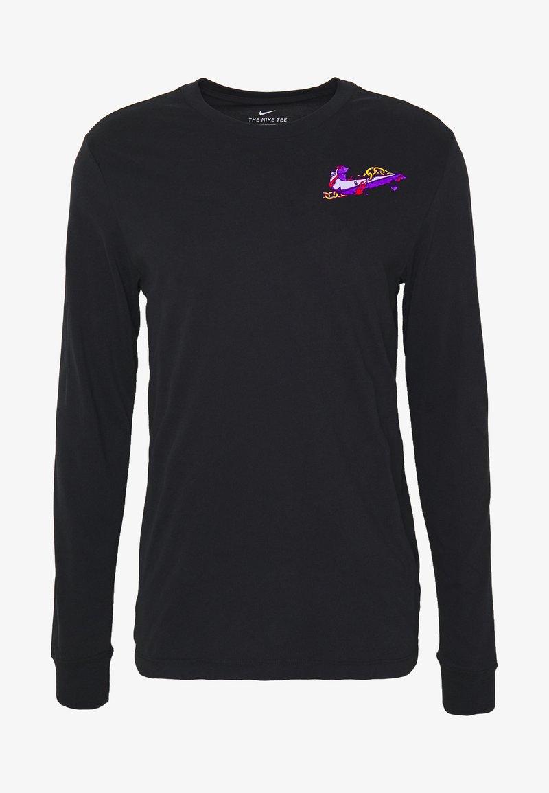 Nike Performance - DRY TEE HOOK - Pitkähihainen paita - black