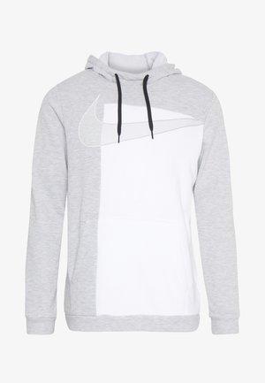 DRY HOODIE  - Sweat à capuche - light smoke grey/white