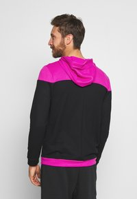 Nike Performance - DRY HOODIE - Collegetakki - fire pink/black - 2