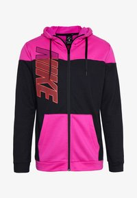 Nike Performance - DRY HOODIE - Collegetakki - fire pink/black - 4