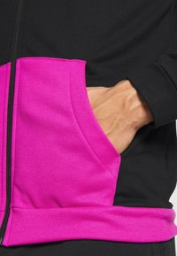 Nike Performance - DRY HOODIE - Collegetakki - fire pink/black - 5