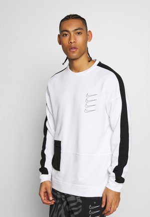 M NK DRY TOP FLEECE PX - Felpa - white/black