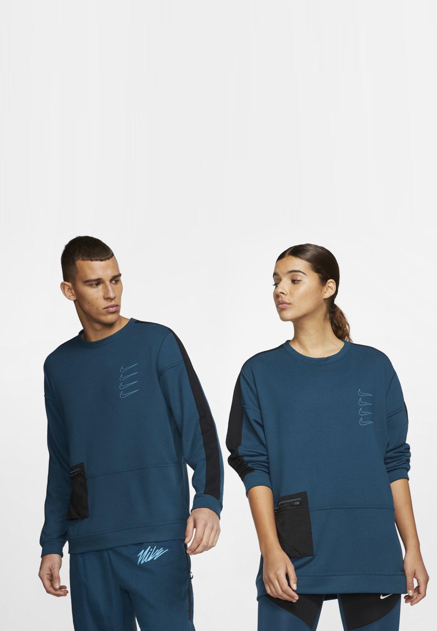 Nike Performance M Nk Dry Top Fleece Px - Felpa Valerian Blue/black/laser Blue/laser Blue pmmY1n9