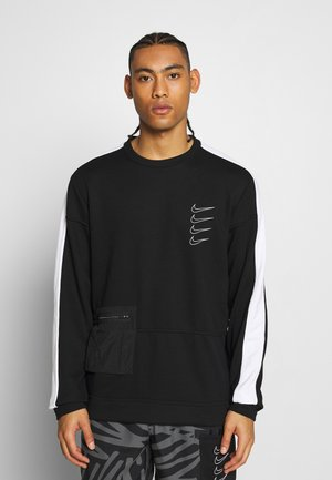 M NK DRY TOP FLEECE PX - Sweatshirt - black/white