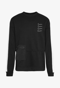 Nike Performance - M NK DRY TOP FLEECE PX - Sweatshirt - black/white - 6