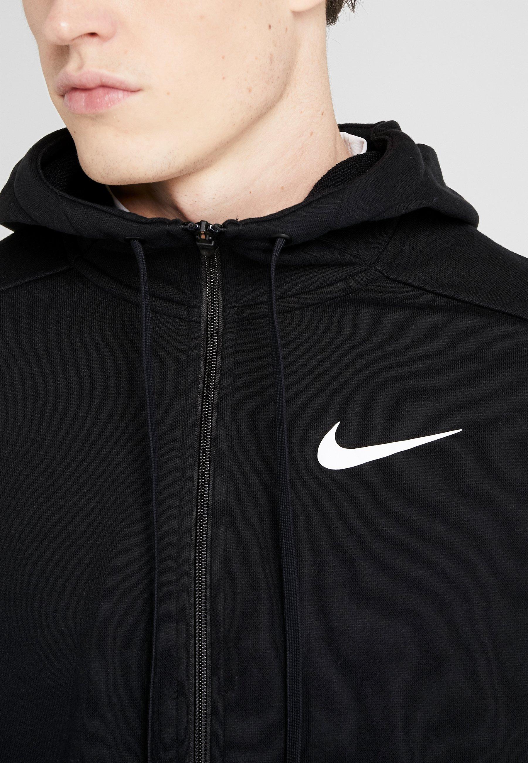 DRY veste en sweat zippée blackwhite