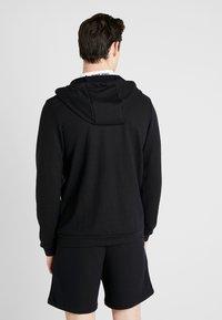Nike Performance - DRY HOODIE  - veste en sweat zippée - black/white - 2