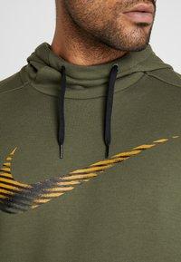 Nike Performance - Hoodie - khaki - 4