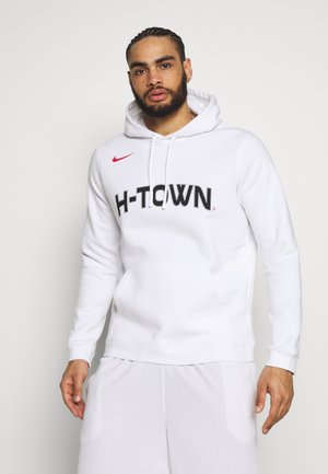 NBA HOUSTON ROCKETS CITY EDITION LOGO HOODIE - Pelipaita - white