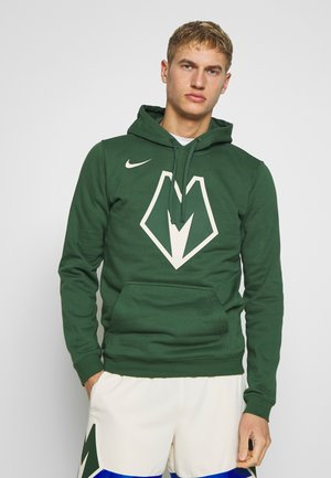 NBA MILWAUKEE BUCKS CITY EDITION LOGO - Mikina s kapucí - fir