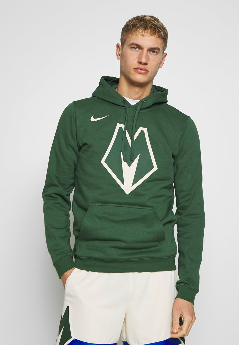 Nike Performance - NBA MILWAUKEE BUCKS CITY EDITION LOGO - Huppari - fir