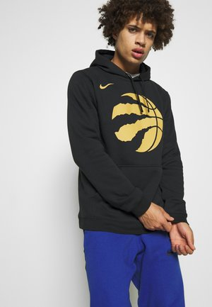 NBA TORONTO RAPTORS CITY EDITION LOGO HOODIE - Hættetrøjer - black