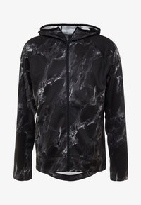 Nike Performance - SPOTLIGHT HOODIE FULL ZIP MARBLE - Training jacket - black/black - 3