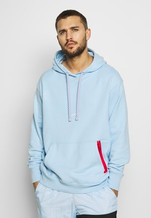 CITY EXPLORATION EDITION CHICAGO DNA HOODIE  - Bluza z kapturem - psychic blue/sail