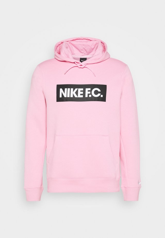 Hoodie - pink/white/white