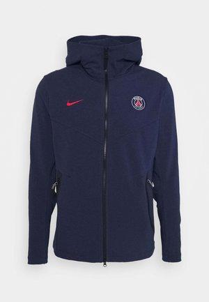 PARIS ST GERMAIN HOODIE - Zip-up hoodie - midnight navy/university red