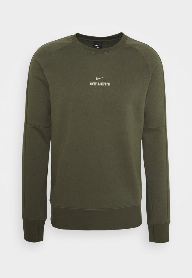 ATLETICO MADRID - Sweater - cargo khaki