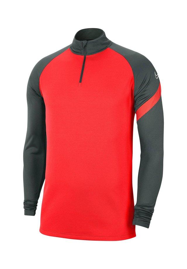 DRI-FIT ACADEMY - Sports shirt - grau/rot (977)
