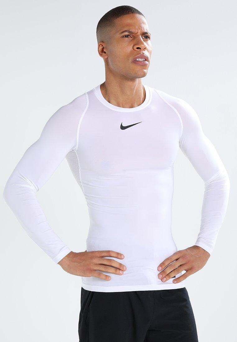 Nike Performance - PRO COMPRESSION - Maglietta intima - white/black