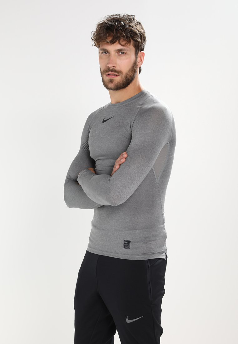 Nike Performance - PRO COMPRESSION - Maglietta intima - carbon heather/black/(black)