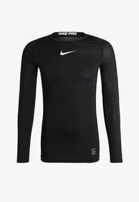 Nike Performance - PRO COMPRESSION - Maglietta intima - black/white - 4